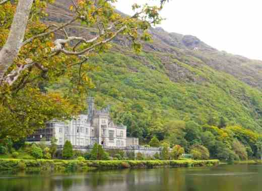 kylemore abbey west coast ireland