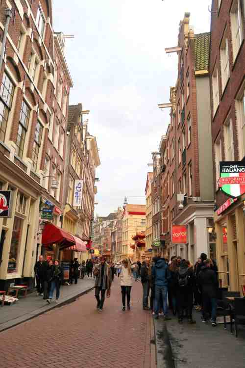 one day in Amsterdam solo, chinatown