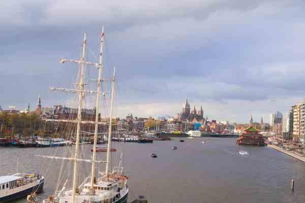 one day in Amsterdam solo, nemo view
