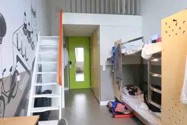 stayokay amsterdam zeeburg hostel dormitory room