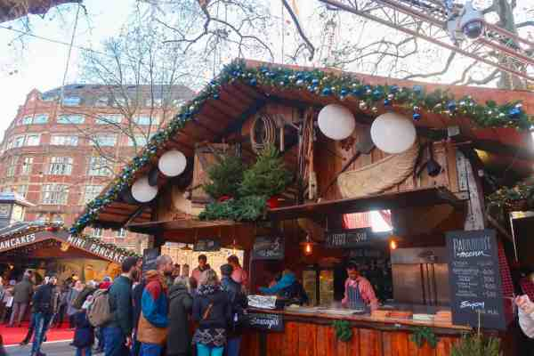 Christmas London Guide Walk leicester square markets