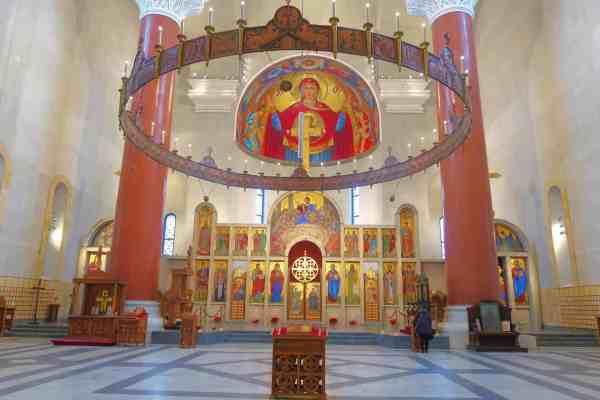 things to do in Belgrade, belgrade church of saint marks