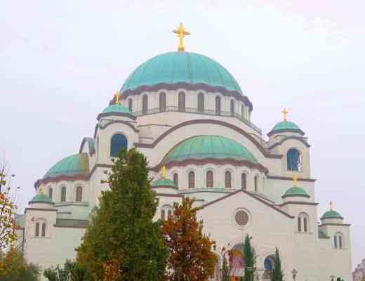 belgrade church of saint save