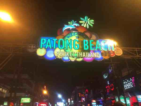 1 month Thailand itinerary, bangla road