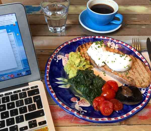 Canada Water Cafe Vegetarian Breakfast London