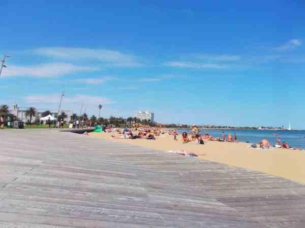 St Kilda beach Melbourne things to do