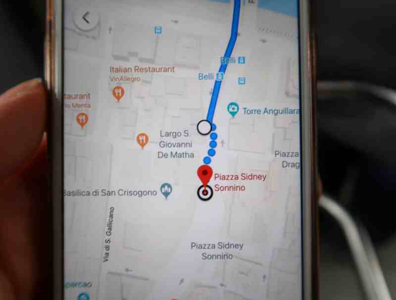 What to do in Trastevere, Trastevere Gianicolo Hill Rome map