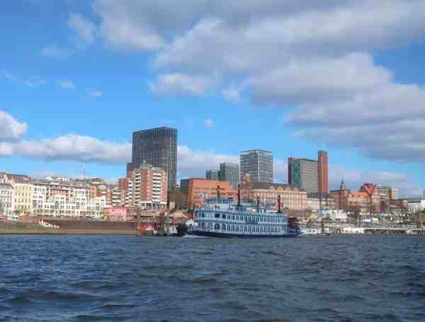 2 days in Hamburg, boat tour