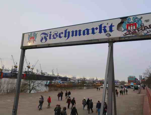 2 days in Hamburg fish market