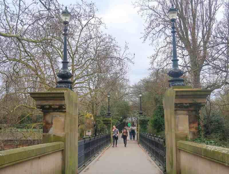 Regents Canal Walk, Primrose Hill Regents Park