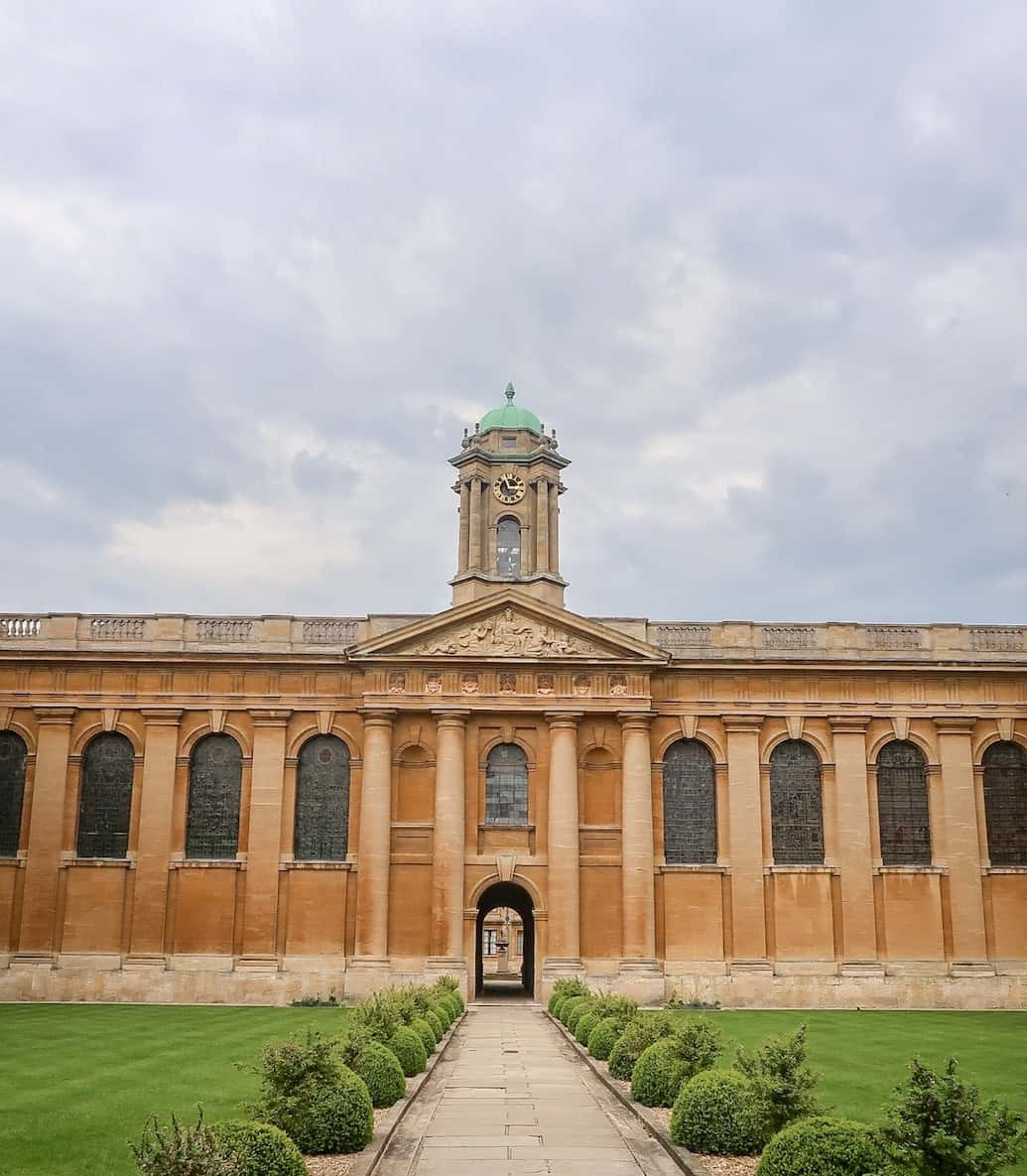 day trip to oxford from London, oxford college