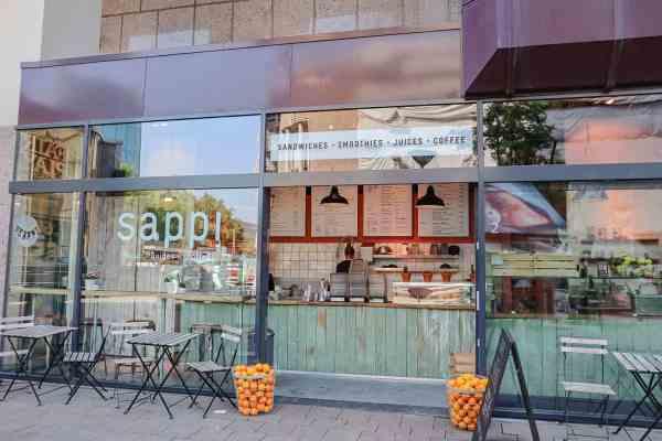 Vegan Cafes Rotterdam, Sappi