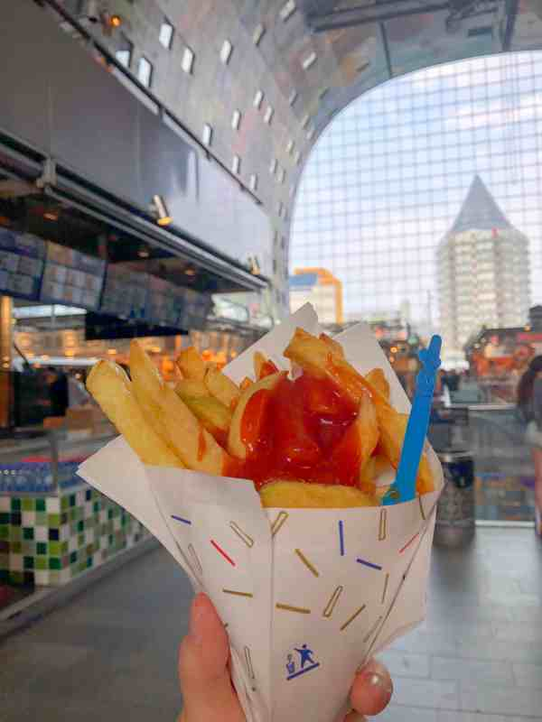 Vegan Cafes Rotterdam, market hall