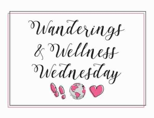 wanderings and wellness wednesday newsletter logo