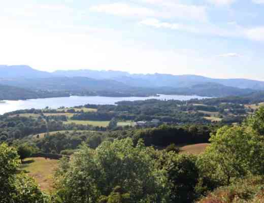 Lake Windermere, Lake District things to do Orrest head