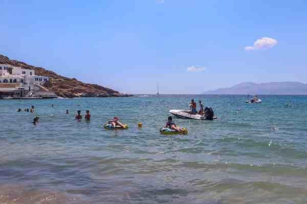 Tubing in Ios Greece