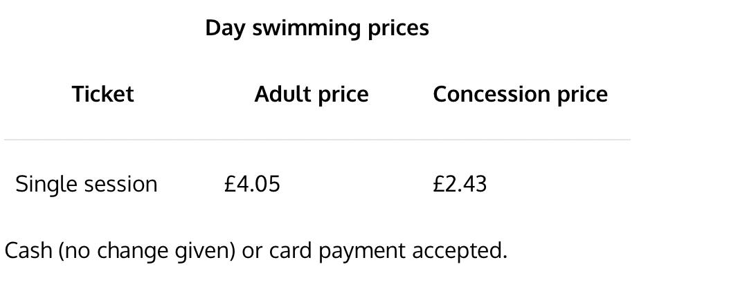 Hampstead Heath Swimming Ponds Tickets