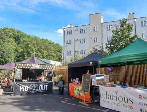 New Street Food Markets in London, Hackney Downs Vegan Market