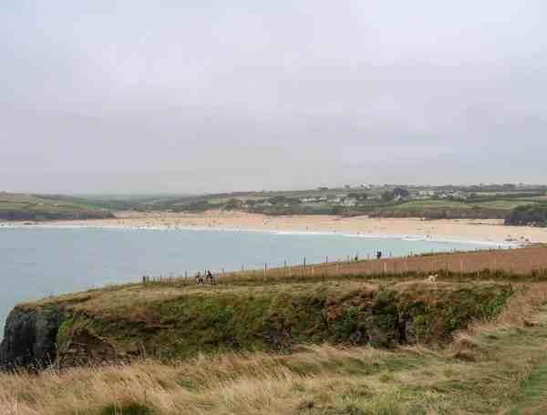 things to do near Padstow Cornwall Harlyn Bay