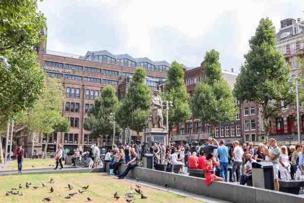 Amsterdam Central to Rijksmuseum, square