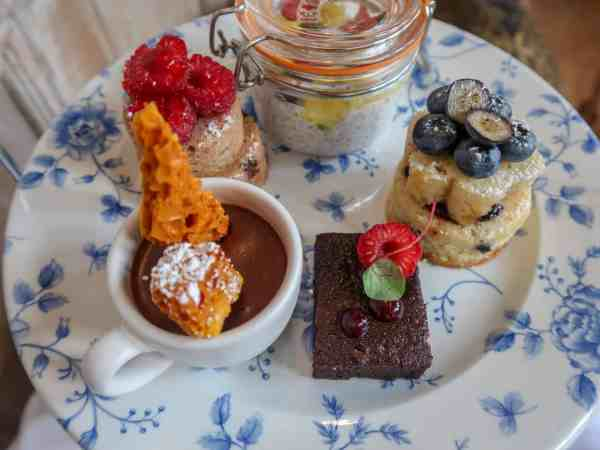 Fawsley Hall Hotel Vegan Afternoon Tea