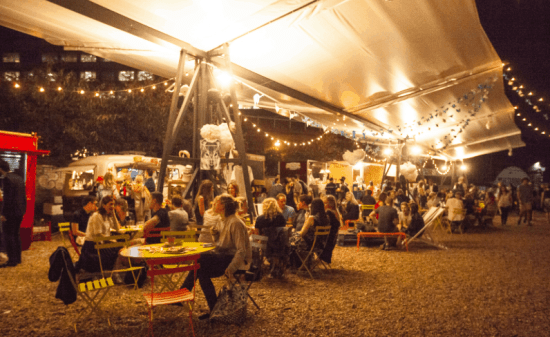 New Street Food Markets in London
