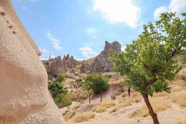 Red Tour around Cappadocia Turkey