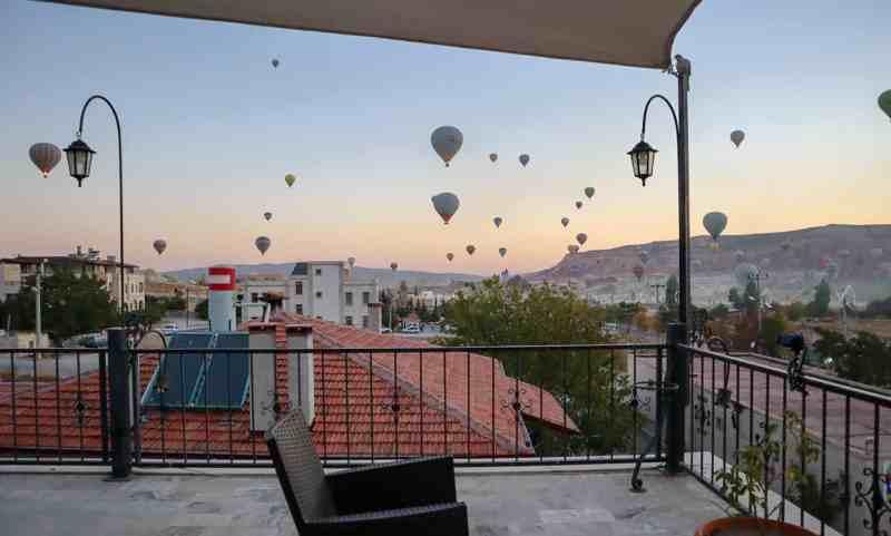 Istanbul to Cappadocia, Goreme Hotel