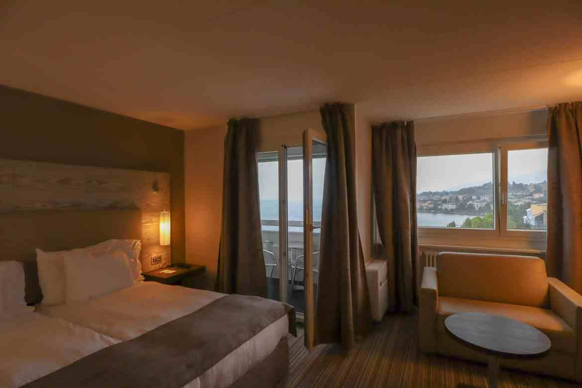 Montreux to Lausanne, Lausanne to Montreux, Eurotel Hotel