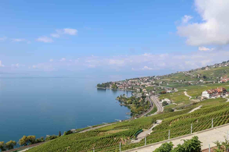Montreux to Lausanne, Lausanne to Montreux, Lavaux