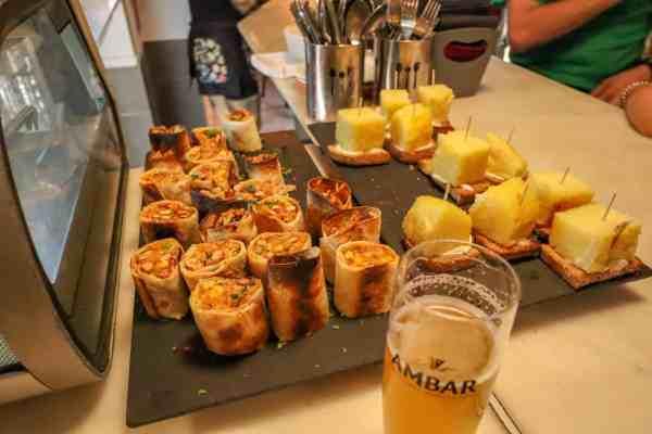 guide to Zaragoza spain tapas restaurants