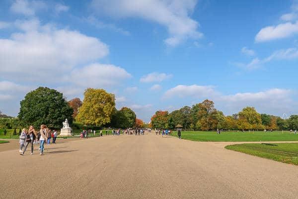 Hyde Park in Autumn