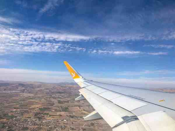 Pegasus Airlines Flying to Cappadocia