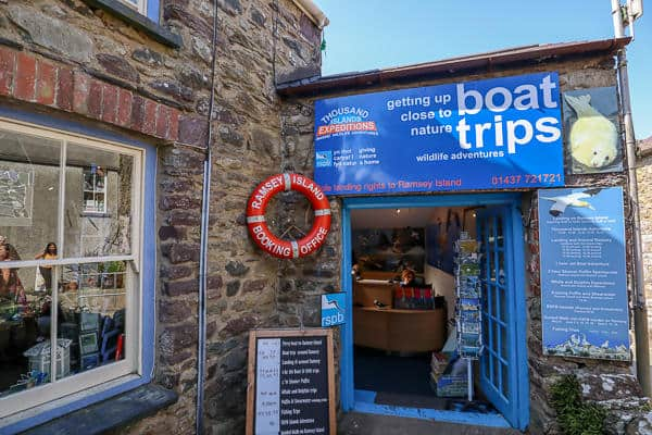 Things to do in Broad Haven Wales Ramsey Island