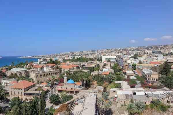 Beirut to Byblos by Uber byblos castle