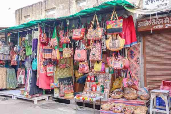 shopping in Pushkar