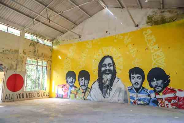 The Beatles Ashram Rishikesh Meditation Hall