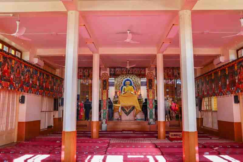 The Dalai Lama Temple Mcleod Ganj | how to see the dalai lama in India