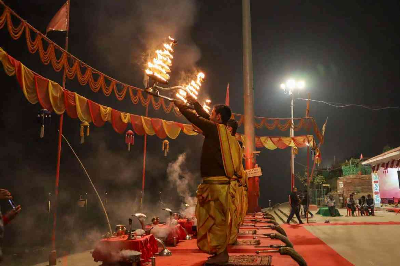 Varanasi itinerary, Varanasi Morning Aarti