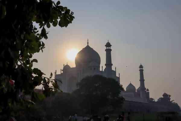 East Side of Taj Mahal View