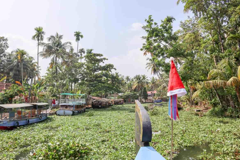 2 month India itinerary, backwaters of Kerala