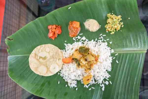 Kerala Backwaters from Alleppey Lunch