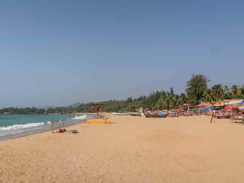 Patmen Beach | best beaches in Goa for foreigners