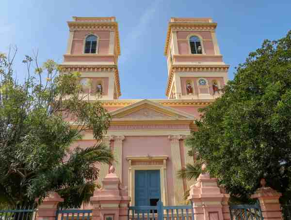 Pondicherry White Town Church