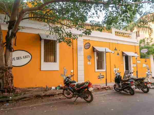 Pondicherry White Town Cafe des Arts
