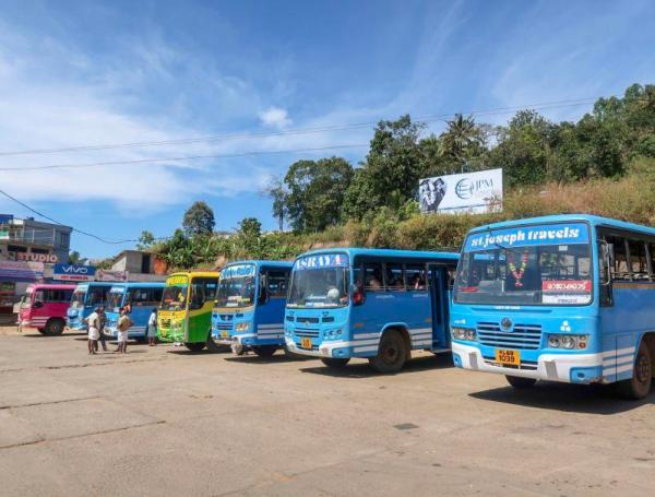 south India travel advice local buses