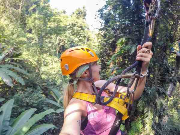 things to do in Chiang Mai zip lining