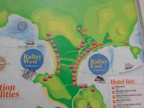 ao nang beach to railay beach day trip
