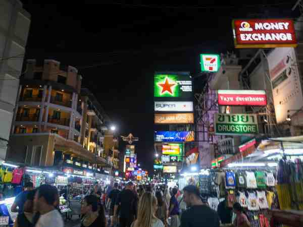 khao san road 2 week thailand itinerary