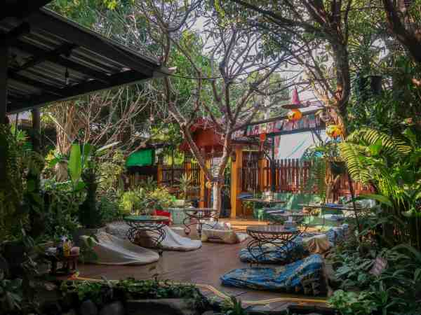 things to do in Chiang Mai healthy cafes